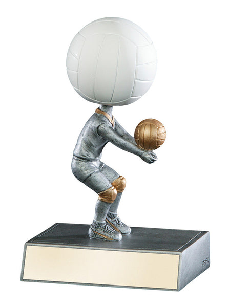 Volleyball Bobble head Resin Figure