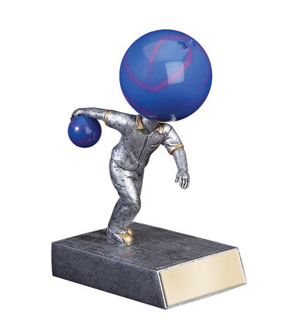 Bowling Bobble head Resin Figure