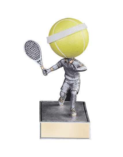 Tennis Bobble head Resin Figure