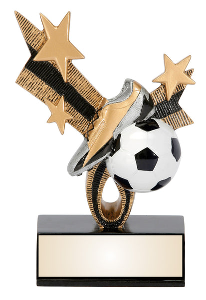 Soccer Color Resin Figures with stars