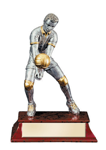 Volleyball Elite Action Figure Resin Award