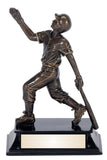Baseball Action Resin Award