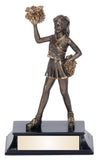 Cheerleader Action Resin Award