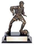 Soccer Action Resin Award