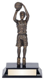 Basketball Action Resin Award