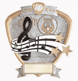 Music Legend Resin Shield