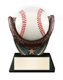 Baseball Holder Resin Award