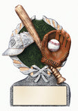 Baseball Full Color Resin Award
