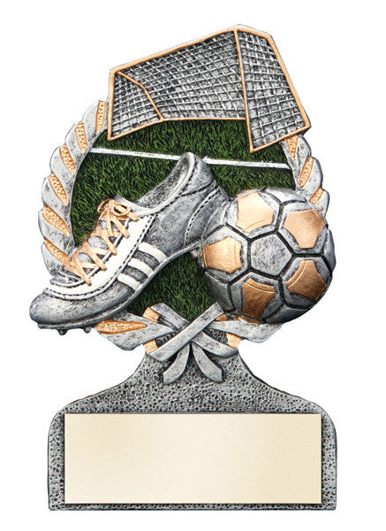 Soccer Full Color Resin Award