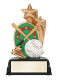 Baseball Resin Star Award