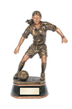 Elegant Female Soccer Figure