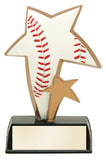 Baseball Star Resin Figure Award