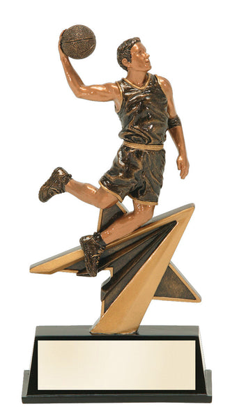 Basketball Star Power Resin Figure Award