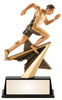 Track Star Power Resin Figure Award