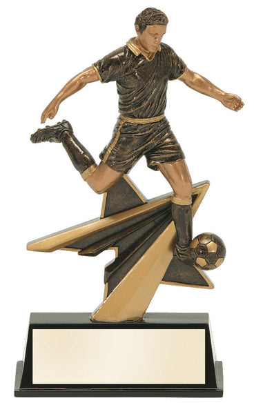 Soccer Star Power Resin Figure Award
