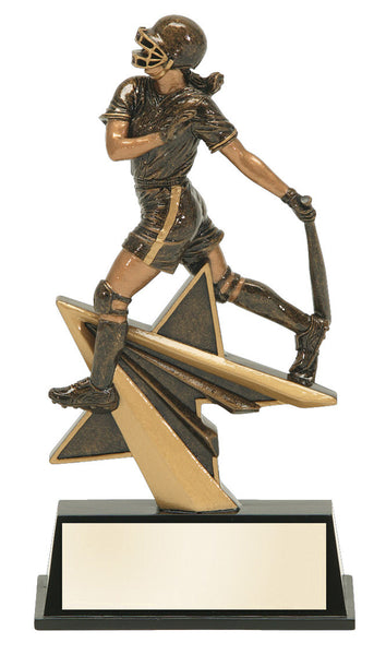 Softball Star Power Resin Figure Award