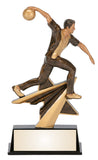 Bowling Star Power Resin Figure Award