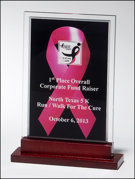 Breast cancer awareness acrylic Awards