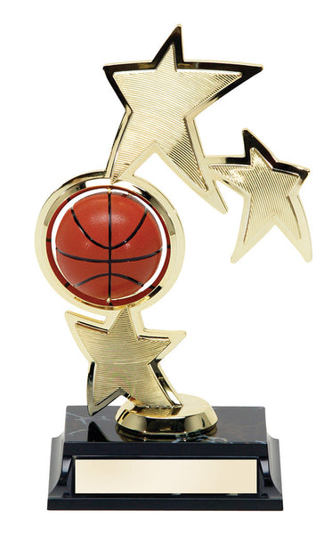 Basketball Spin 3 Star Award