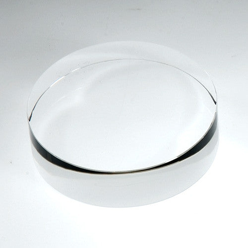 Round Disc- Clear