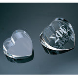 Slant Heart Paperweight