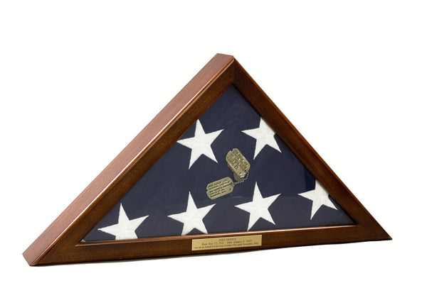 Small Wall Mounted Flag Display Case