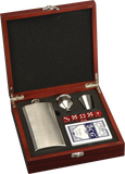 Flask and Card Gift Set