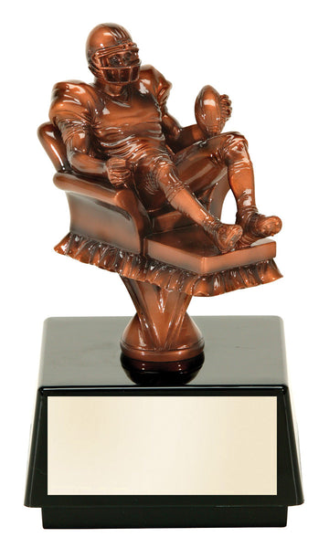 Fantasy Football Studded Resin Figure Award