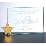 Achievement Award with Star Holder at AcademyEngraving.com