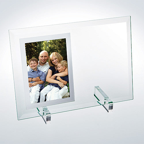 Beveled Vertical Mirror Photo Frame