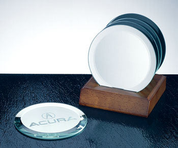 Circle Glass Coaster