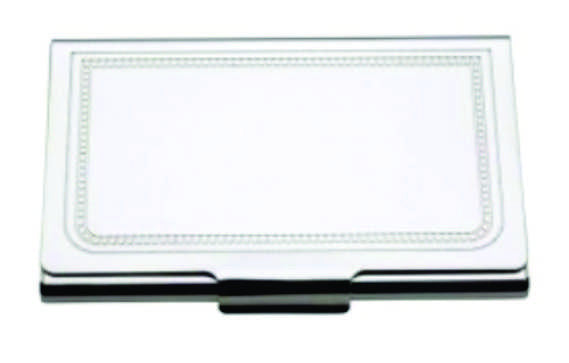 Charleston Card Case Silverplate