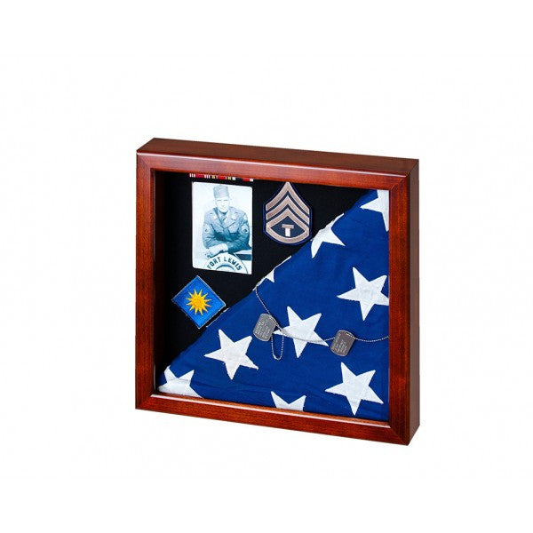 Square Flag Display Case