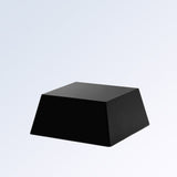 Black Painted Aluminum Base