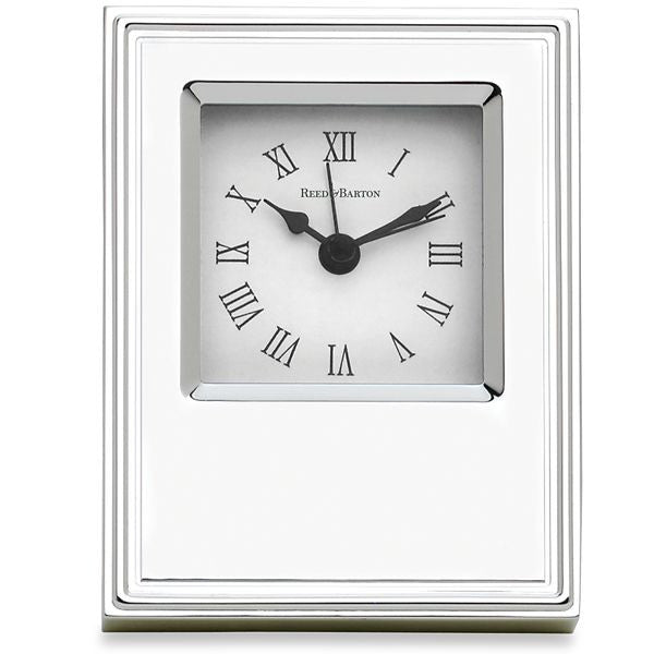 Classic Silverplate Clock
