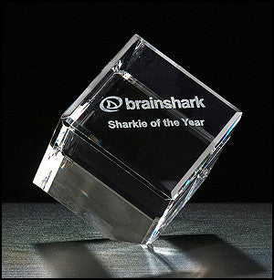 Cube Series Crystal Award