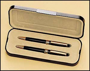 Euro Pen and Pencil Set black