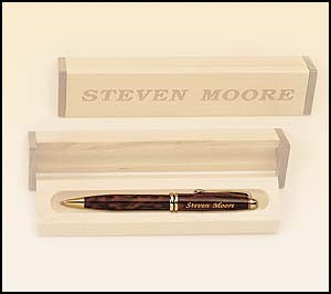 Tortoise shell pen