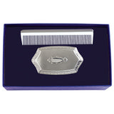 Boy's Embossed Brush and Comb Gift Set