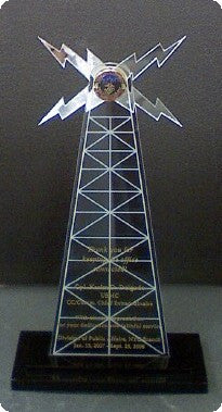 Custom made Radio Award