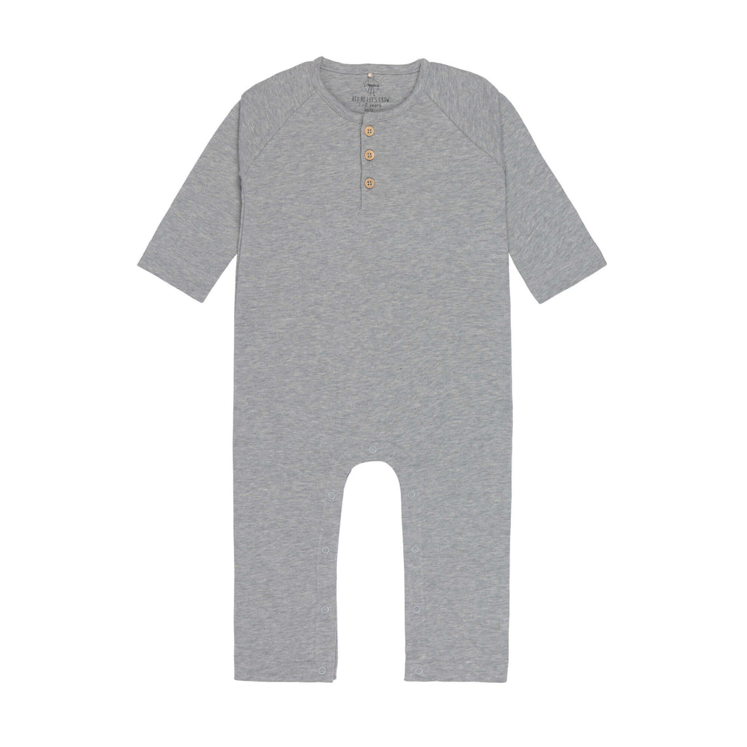 Lässig - Baby Overall - Heather grey mélange