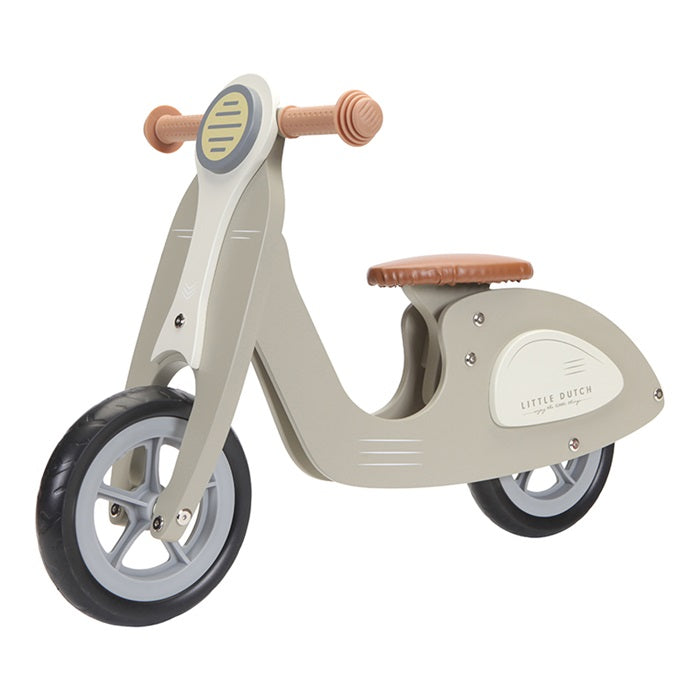 Little Dutch - Scooter hout - Olive