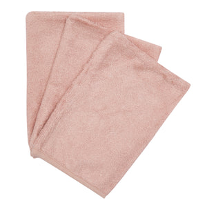 Timboo - 3 Washandjes - Misty Rose