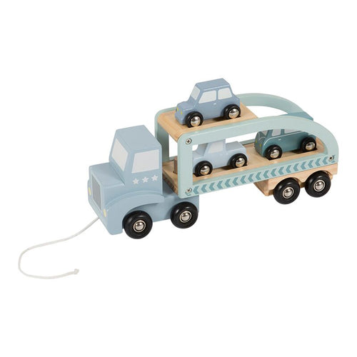 Little Dutch - Truck hout - Mint
