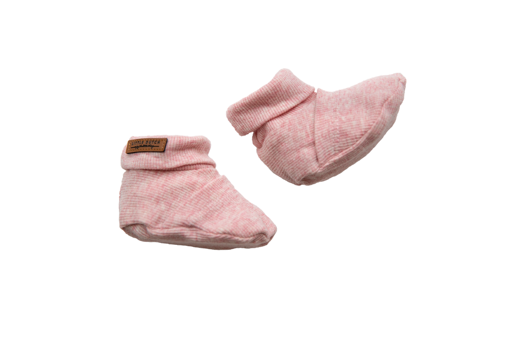 Little Dutch - Babyslofjes - Pink Melange