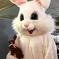 The Easter Bunny at The Mansion