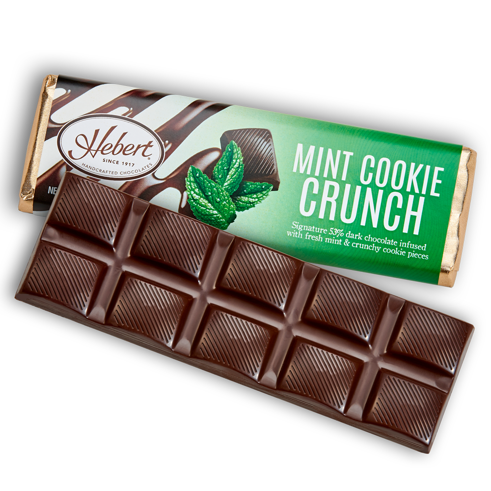 Mint Cookie Crunch Dark Chocolate (2.15oz) 12 Bar Pack
