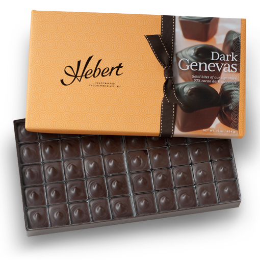 1 lb Dark Chocolate Genevas