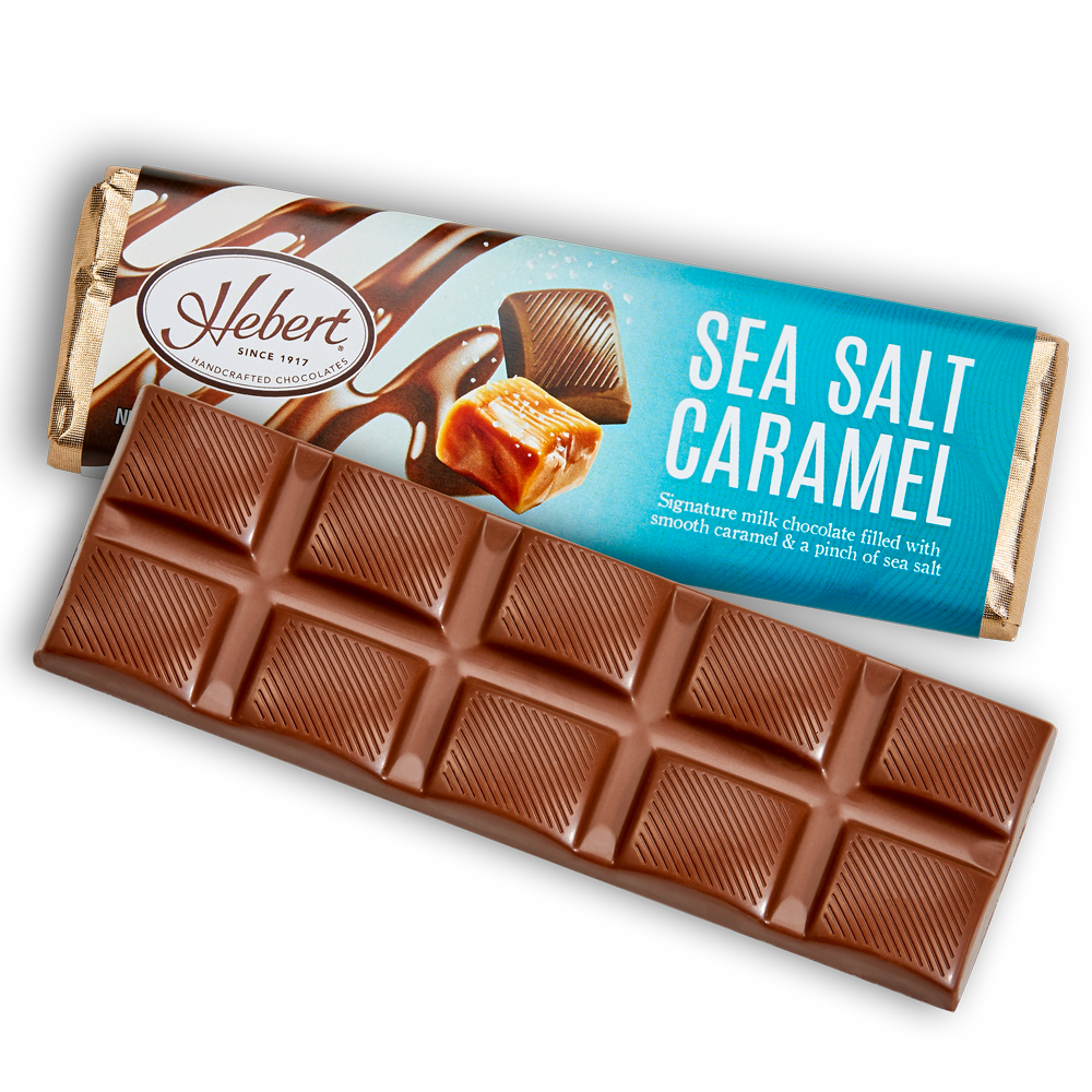 Sea Salt Caramel Milk Chocolate (2.15oz) 12 Bar Pack