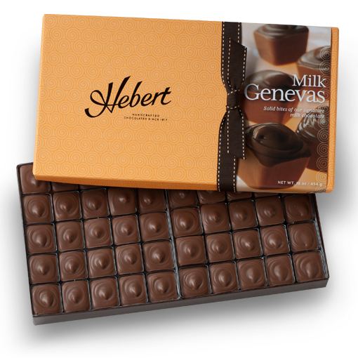 Genevas - 1 lb.  Milk Chocolate